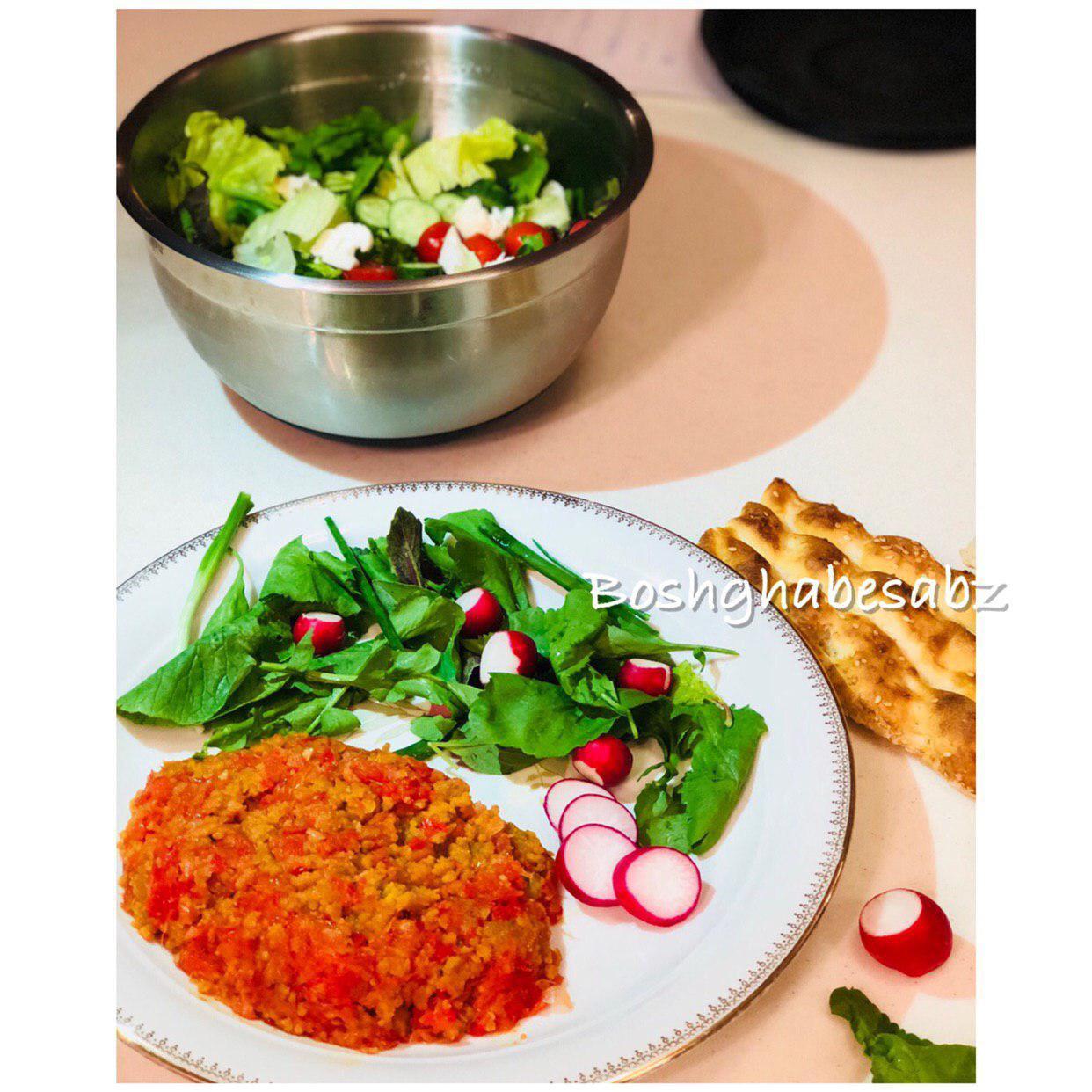 vegan-Omelette-املت-گیاهی-وگن-وگان