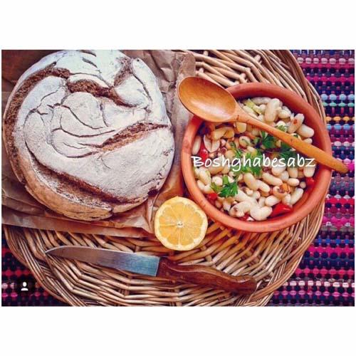 خوراک حبوبات وگان، خوراک حبوبات وگن، خوراک حبوبات گیاهی
