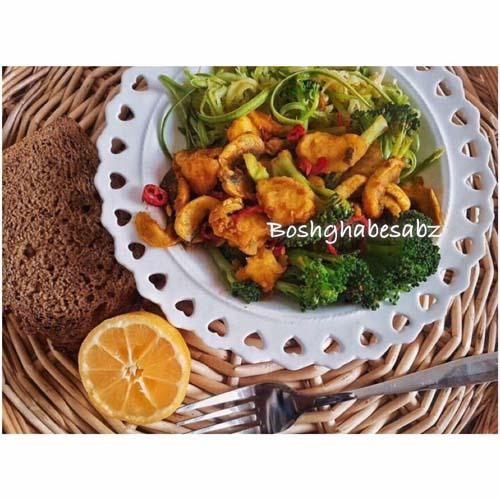خوراک سبزیجات وگان، خوراک سبزیجات وگن
