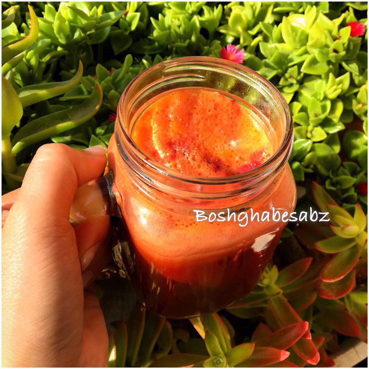 آب-سیب-هویج-چغندر