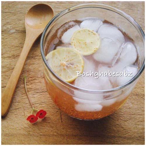 شربت خاکشیر و لیموترش، نوشیدنی گیاهی