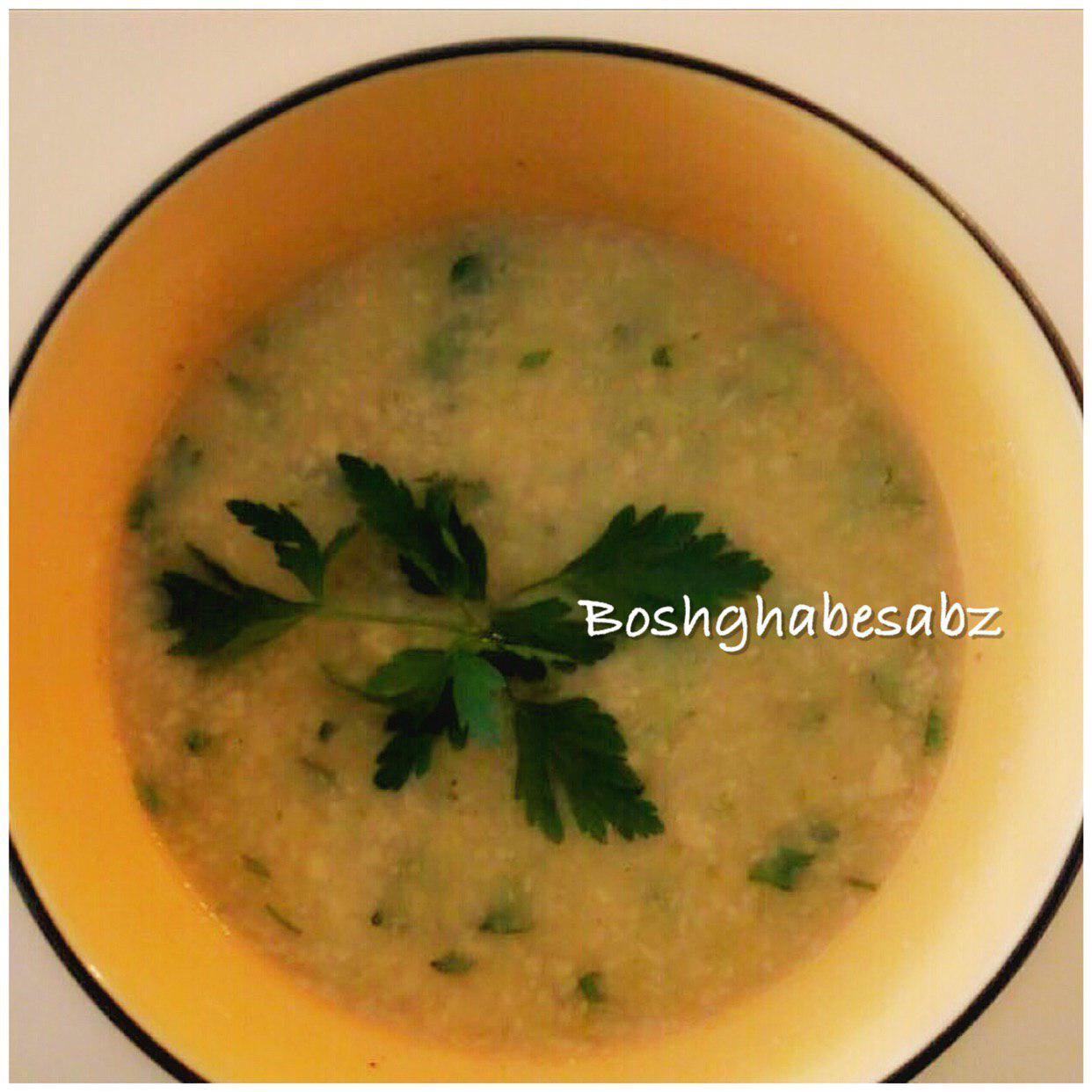 سوپ-قارچ-کرفس-گیاهی-وگان-soup-vegetarian