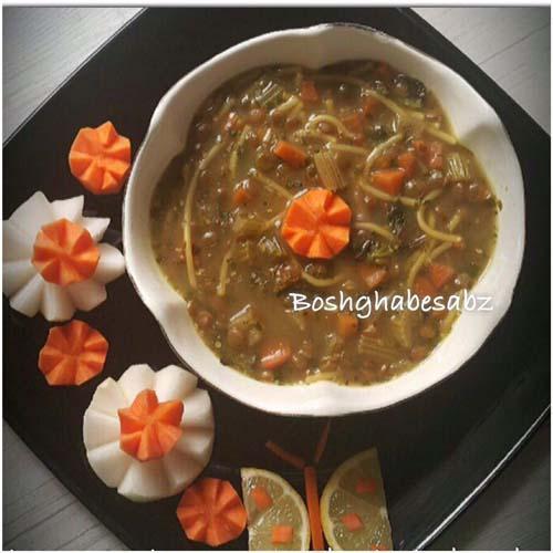 سوپ سبزیجان وگان، سوپ سبزیجات وگن