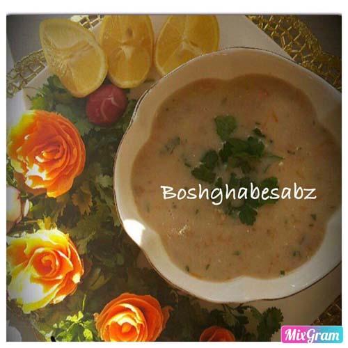 سوپ شیر گیاهی، سوپ شیر وگان، سوپ شیر وگن