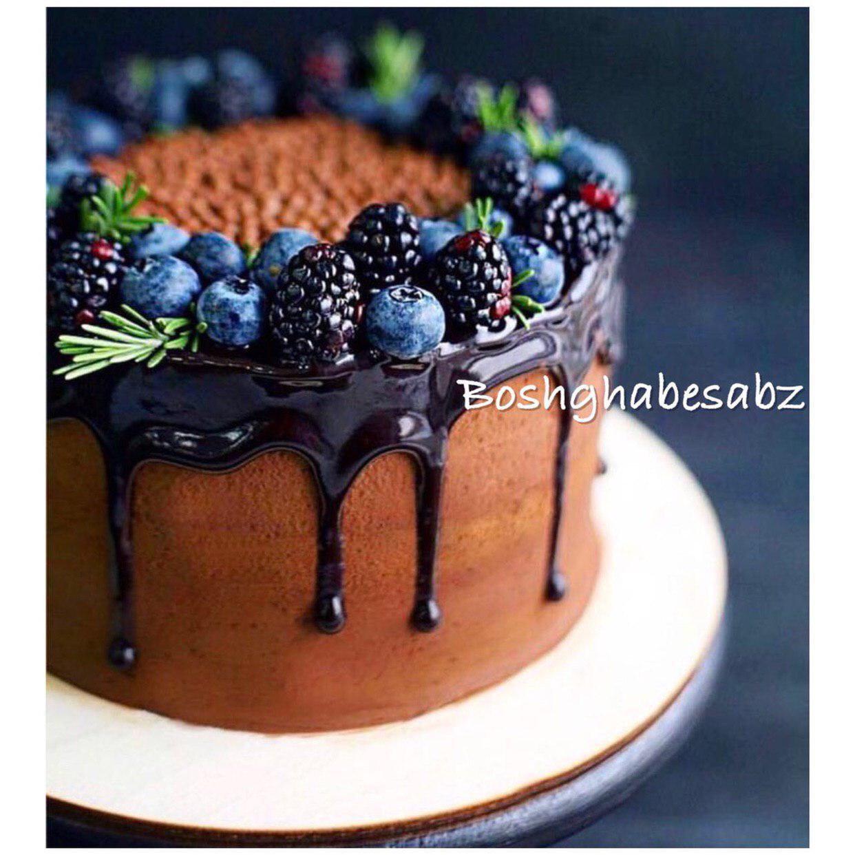 کیک-شکلاتی-وگن-گیاهی-وگان