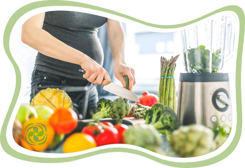 بارداری و گیاهخواری - حاملگی و گیاهخواری - بارداری و رژیم وگن - حاملگی و رژیم وگن
