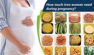 بارداری و نیاز به آهن از منابع گیاهی
